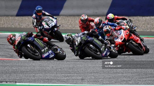 Jadwal MotoGP 2021 Lengkap Jam Tayang Trans7 - Sikap Apatis Quartararo buat Kecewa Maverick Vinales