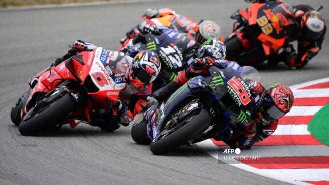 Hasil Klasemen MotoGP 2021 - Fabio Quartararo vs Johann Zarco, Prancis Diambang Cetak Sejarah