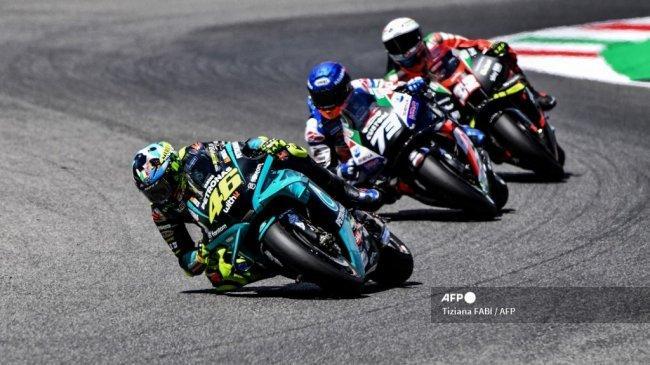 Jadwal Race MotoGP 2021 Live Trans7 - Saatnya Berhenti Rossi, Tak Ada yang Kuasa Melawan Waktu