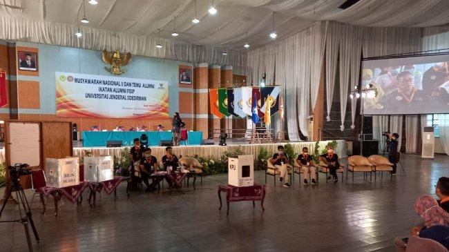 Mengintip Munas Ikafu Rasa Pilpres: Ada Bilik dan Kotak Suara Berlogo KPU