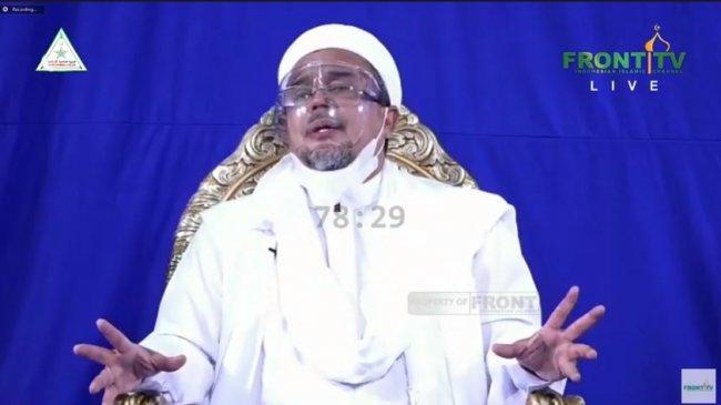 Rizieq Shihab: Jangan Benturkan Pancasila dengan Ajaran Islam