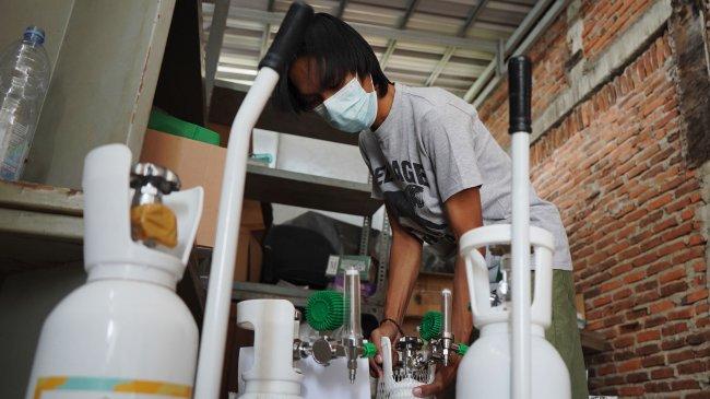 Polri: Hukuman Penjara Maksimal 6 Tahun dan Denda Rp 2 Miliar Bagi yang Menimbun Oksigen Medis