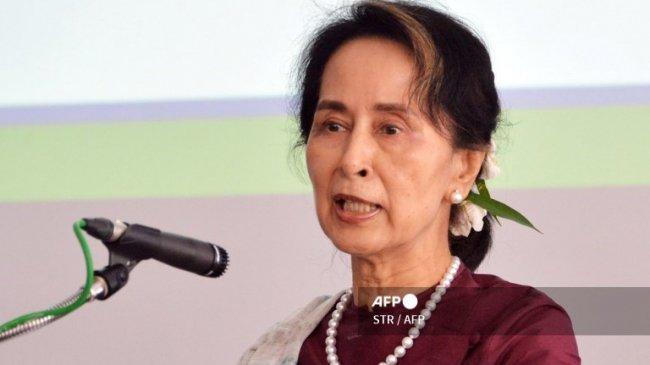 Giliran Kuasa Hukum Aung San Suu Kyi Dibungkam Junta Militer, Ucapannya Dinilai Bikin Gaduh
