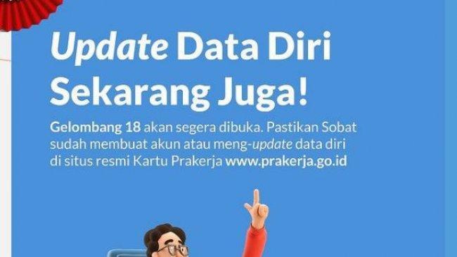 Kartu Prakerja Gelombang 18 Segera Dibuka, Berikut Cara Daftar di www.prakerja.go.id