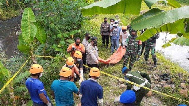 Pensiunan TNI AD Ditemukan Meninggal di Kali Sempor, Petani Bantu Evakuasi