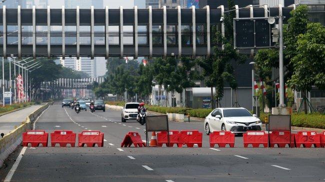Dirlantas Polda Metro Jaya Pastikan Pemberlakuan Pos Penyekatan PPKM Level 4 Diperpanjang