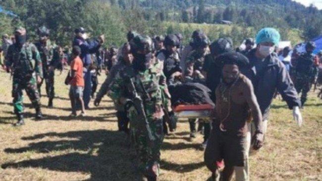 Jenazah Korban Kebrutalan KKB Papua Telah Dimakamkan Secara Adat