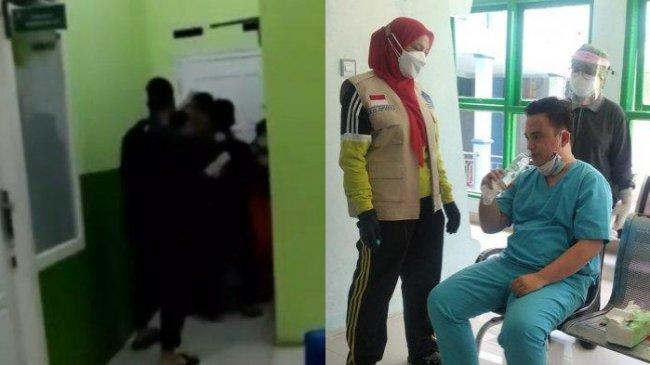 Video 3 Detik Perawat di Bandar Lampung Dikeroyok Viral, gara-gara Tabung Oksigen