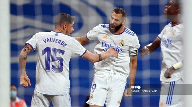 Klasemen Liga Spanyol: Real Madrid di Pucuk, Ancelotti Singgung Kontribusi Benzema dan Vinicius
