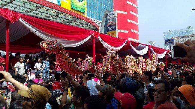 Charles Honoris: Meriahnya Karnaval Cap Go Meh, Bukti Warga Jakarta Butuh Hiburan