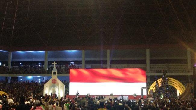 35 Ribu Personel Amankan Kehadiran Jokowi di Perayaan Natal Nasional