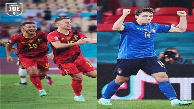 Prediksi dan Head-to-Head Belgia vs Italia Babak Perempat Final Euro 2020