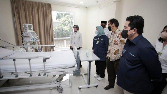 RS Covid-19 Asrama Haji Mampu Rawat Pasien Covid-19 dengan Kondisi Berat hingga Kritis