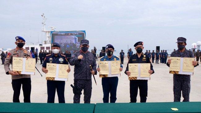 Bea Cukai dan Empat Instansi Lain Jalin Kerja Sama Pelaksanaan Operasi Laut Interdiksi Terpadu