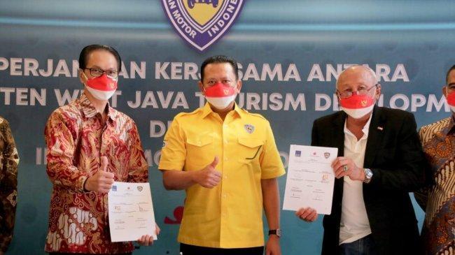 Bamsoet: IMI Siap Kembangkan Automotive Sport Tourism Tanjung Lesung