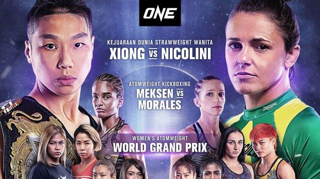 Pertama Kali Laga Khusus Petarung Wanita Berlangsung 3 September 2021 di One Championship