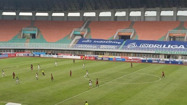 Borneo FC Vs Persita: Diwarnai Drama Kartu Merah Irsyad, Pesut Etam Unggul 1-0 Babak I