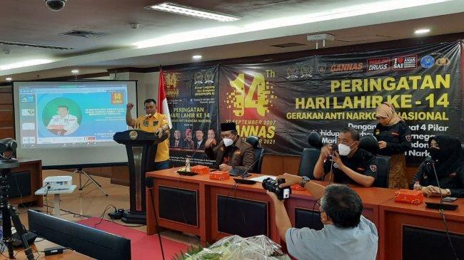 DPD RI Dukung Gannas Dalam Pencegahan Peredaran Narkoba