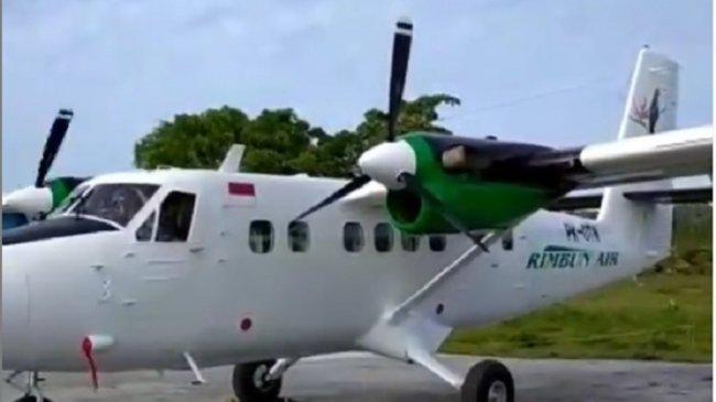 FAKTA Rimbun Air Jatuh di Papua: Foto Kondisi Pesawat yang Hancur, Tiga Kru Diduga Gugur