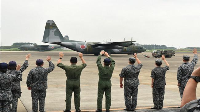 Pesawat SDF Mendarat di Pangkalan Udara Saitama, Bawa Warga Jepang yang Dievakuasi dari Afghanistan