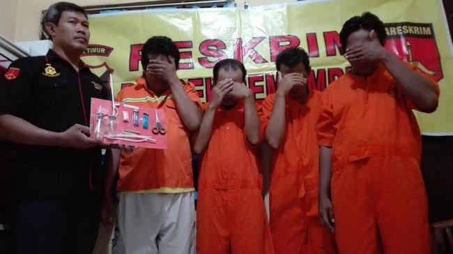 Duh, Tiga Pemuda di Surabaya Ini Pakai Toilet Rumah Sakit untuk Pesta Sabu-sabu