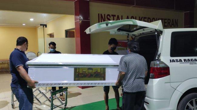 Peti Jenazah Rudhi, Korban Kebakaran Lapas Tangerang Tiba di RS Polri, Rencana Dipulangkan Besok