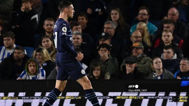 Hasil Liga Inggris: Permalukan Brighton 1-4, Guardiola Puji Foden & Soroti Level Permainan Man City