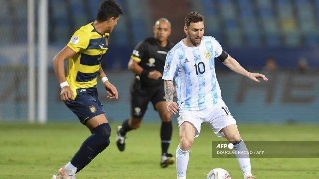 Pertaruhan Terakhir Lionel Messi untuk Argentina di Copa America 2021, Beban Samai Rekor Maradona