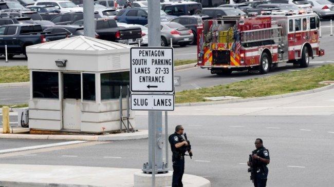Serangan dan Baku Tembak di Stasiun Pintu Masuk Pentagon, Petugas Tewas dan Beberapa Cedera