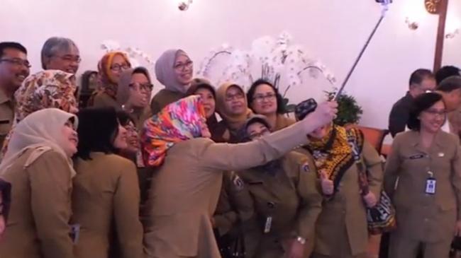 Hari Pertama Kerja Pasca-Lebaran 2016, Gubernur Ahok Gelar Halal Bihalal