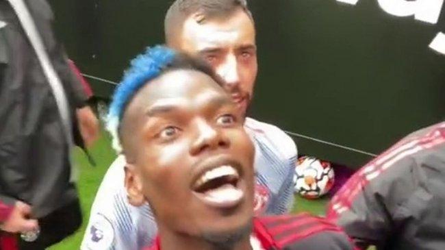 Begini Cara Pogba Merespons Ejekan Fan West Ham, Michael Carrick Membawa Pogba Masuk ke Terowongan