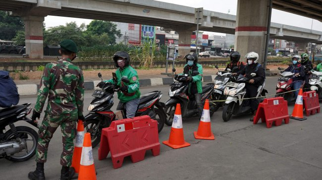 PPKM Darurat Berlangsung, Pos Penyekatan di Jawa-Bali Bertambah Jadi 651 Titik