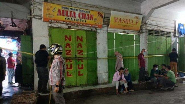 Perampokan Toko Emas di Medan, Pelaku Bawa Senjata Api, Tukang Parkir Ditembak di Leher