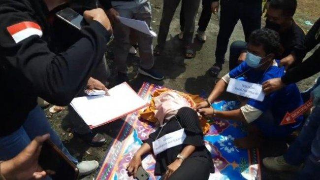 Bagus Batal Kuburkan Jasad Teman Wanitanya, Korban Ditemukan Warga di Kamar Mandi Tertutup Seng