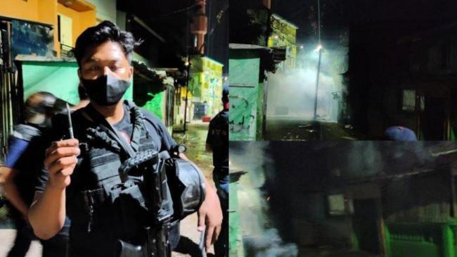 Pelaku Tawuran di Makassar Melempari Polisi dengan Batu, Anak Panah Hingga Bom Molotov