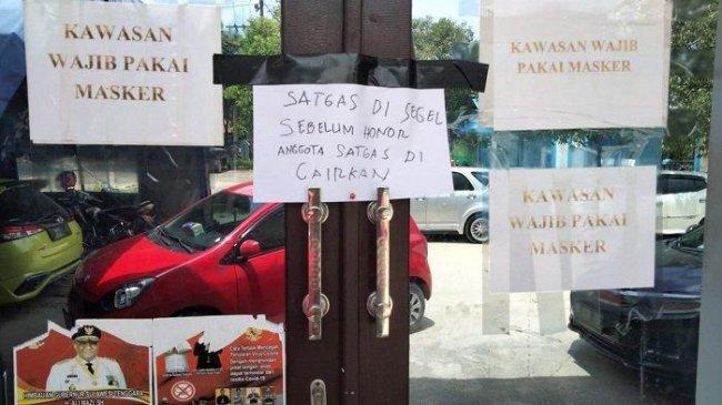 Sudah 4 Hari Posko Satgas Covid-19 di Sulawesi Tenggara Disegel, Ada Apa ?