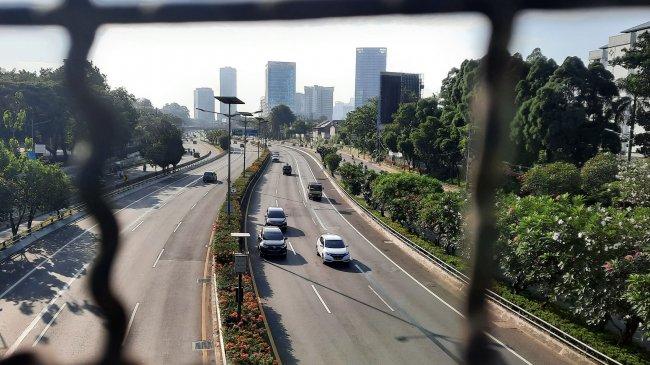 Hari Raya Idul Adha 1442 H, Polisi Sebut Lalu Lintas Pos Penyekatan Tol Arah Jakarta Lancar