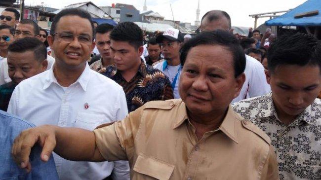 Survei Voxpol Center: Prabowo Paling Dikenal Publik, Diikuti Sandiaga Uno dan Anies Baswedan
