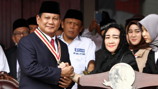 Prabowo Bakal Melayat ke Kediaman Rachmawati Soekarnoputri Setelah Pulang dari Luar Negeri