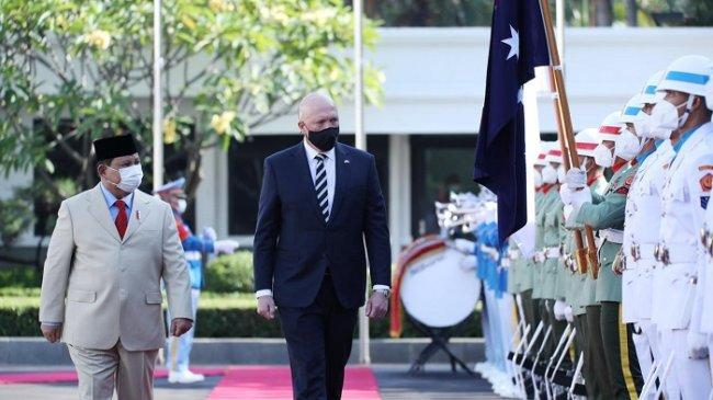 Bertemu Menhan Australia, Prabowo Bahas Peningkatan Kerja Sama Industri Pertahanan Hingga Pendidikan