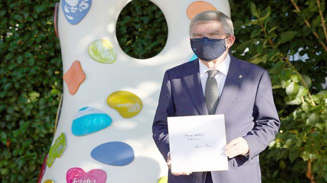Presiden IOC Kunjungi Monumen Pemulihan Tokyo 2020: 'Kita Selalu Lebih Kuat Apabila Bersatu'