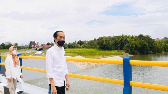 Jokowi Resmikan Bendungan Paselloreng dan Gilireng di Sulawesi Selatan