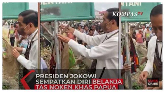 Jokowi Beli Noken Papua dari Mama-mama di Pinggir Jalan, Apa Itu Noken dan Kegunaannya?