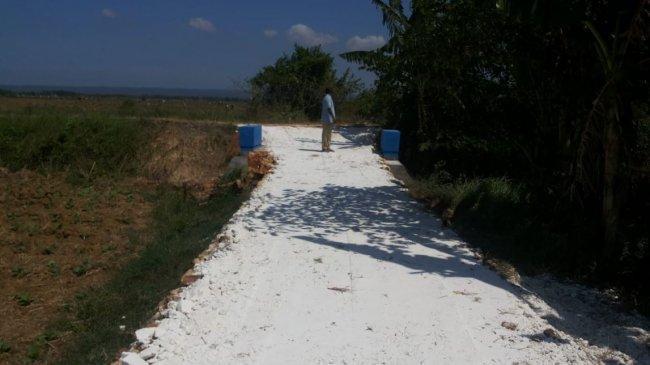 Program Padat Karya, Kementan Realiasikan Jalan Usaha Tani di Sumenep