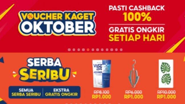 Promo Shopee Serba Seribu hingga Dapatkan Voucher Kaget Oktober 2021