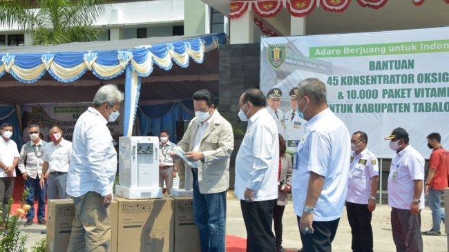 Tanggulangi Pandemi, 65 Konsentrator Oksigen di Kirim ke Kabupaten Tabalong dan Balangan