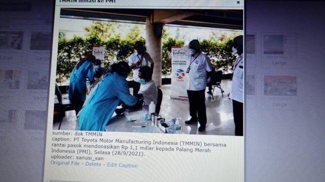 Bantu Penanganan Covid, Toyota Indonesia Donasi Rp 1,1 Miliar dan Donor Plasma Konvalesen ke PMI