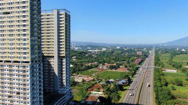 LRT City Sentul Jadi Satu-satunya Apartemen yang Punya Lapangan Sepakbola