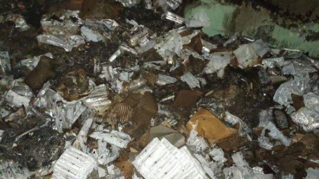 Ribuan Ampul Vaksin dan APD Ikut Dilalap Api dalam Peristiwa Terbakarnya Gudang Puskesmas Sumur Batu