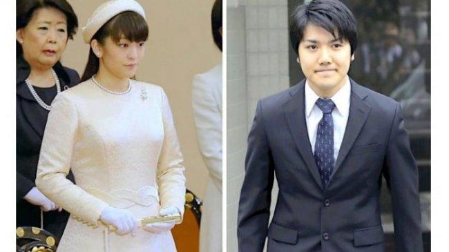 Siang Ini Keponakan Kaisar Jepang Putri Mako Menikahi Kei Komuro